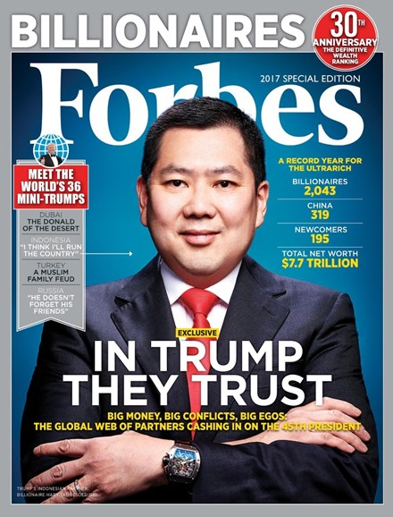 Forbes Cover - 3/28/2017