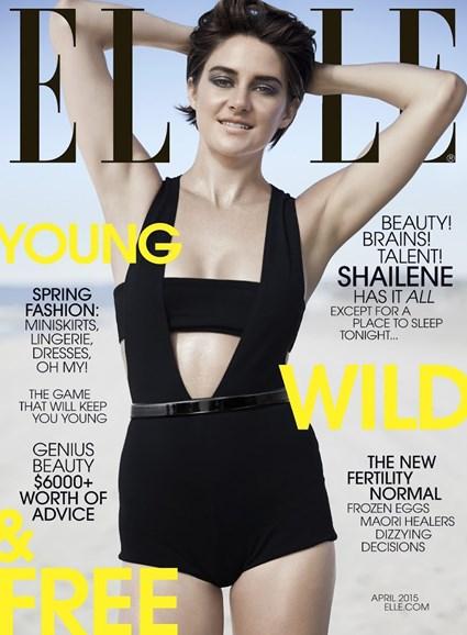 ELLE Cover - 4/1/2015