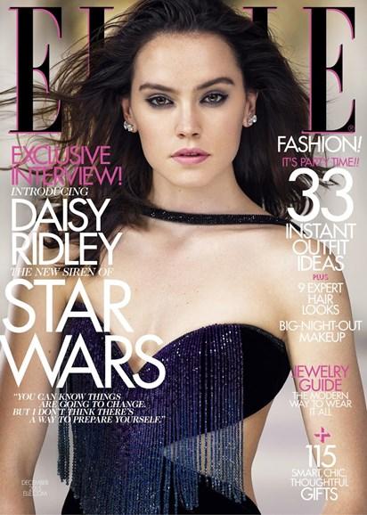 ELLE Cover - 12/1/2015
