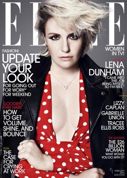 ELLE Cover - 2/1/2015