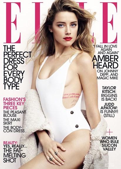 ELLE Cover - 7/1/2015