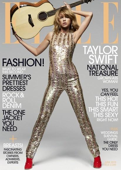 ELLE Cover - 6/1/2015