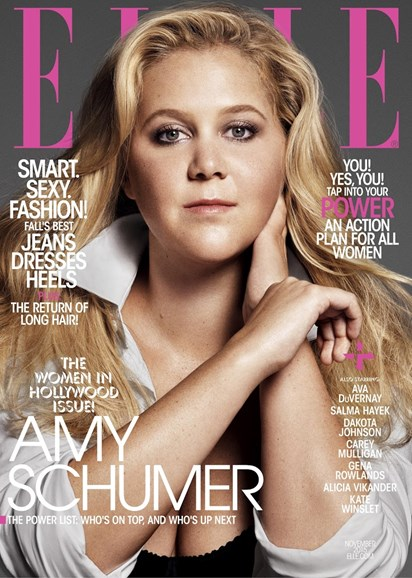 ELLE Cover - 11/1/2015