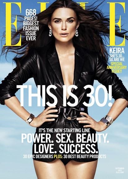 ELLE Cover - 9/1/2015