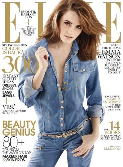ELLE Cover - 4/1/2014