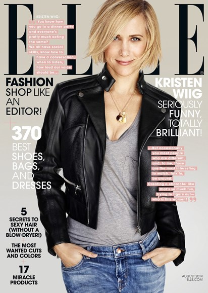ELLE Cover - 8/1/2014