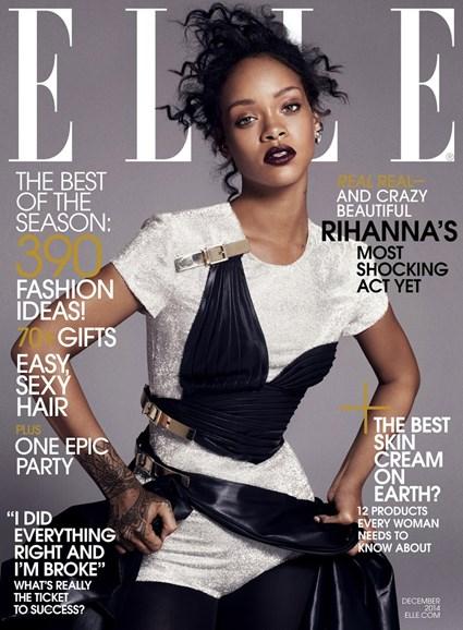 ELLE Cover - 12/1/2014