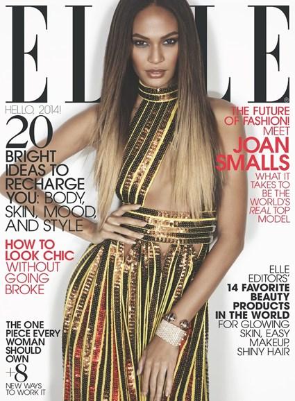 ELLE Cover - 1/1/2014