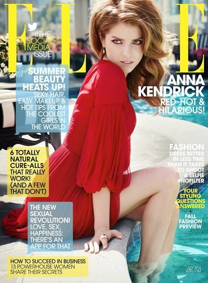 ELLE Cover - 7/1/2014