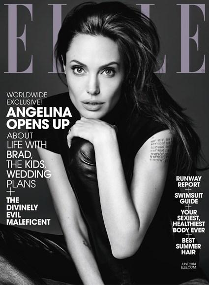 ELLE Cover - 6/1/2014