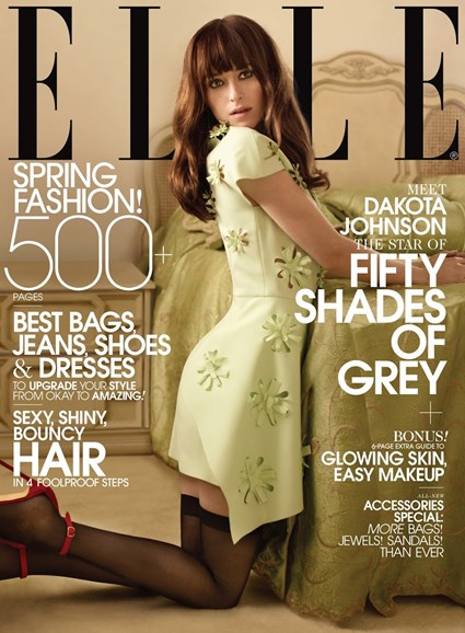 ELLE Cover - 3/1/2014