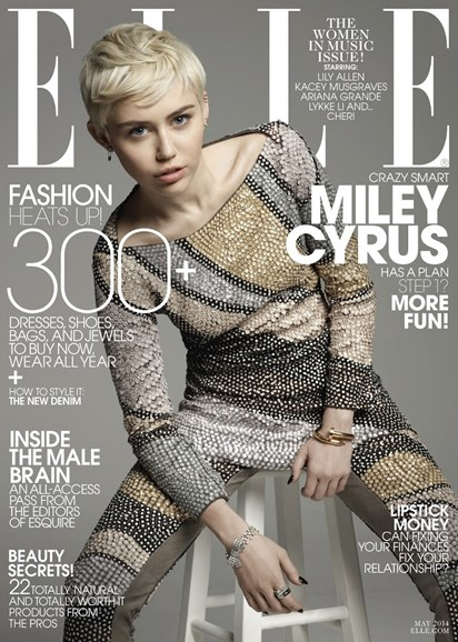 ELLE Cover - 5/1/2014
