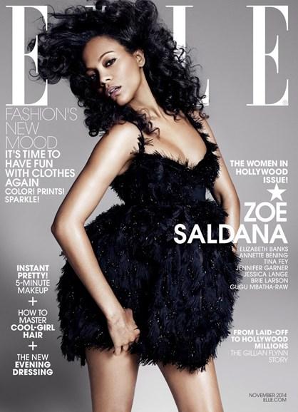 ELLE Cover - 11/1/2014