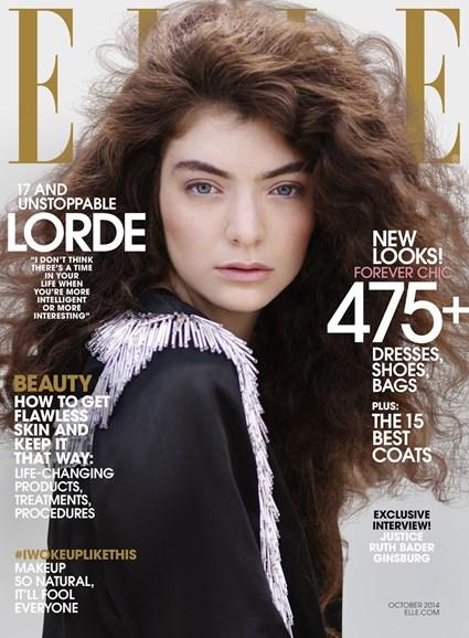ELLE Cover - 10/1/2014