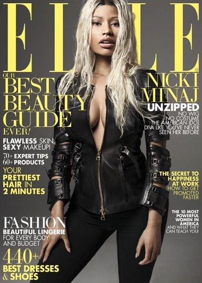 ELLE Cover - 4/1/2013