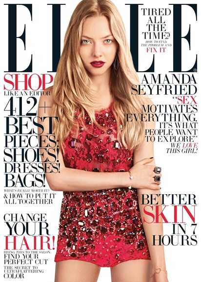 ELLE Cover - 8/1/2013