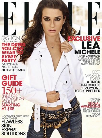 ELLE Cover - 12/1/2013