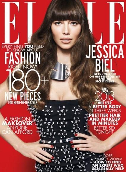 ELLE Cover - 1/1/2013