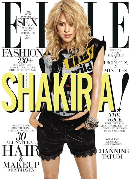 ELLE Cover - 7/1/2013