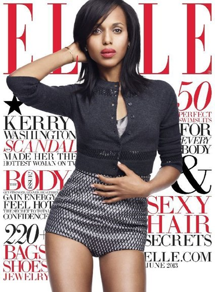 ELLE Cover - 6/1/2013