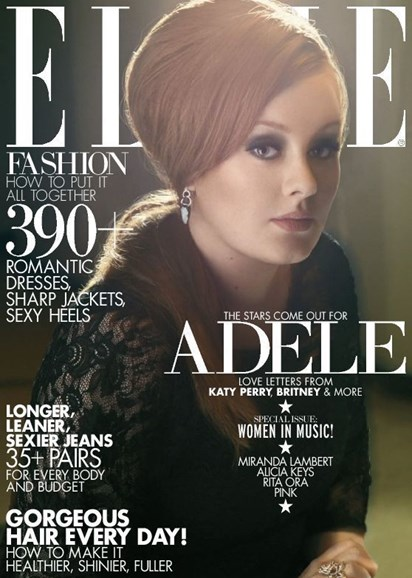 ELLE Cover - 5/1/2013