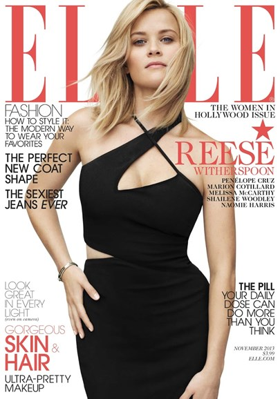 ELLE Cover - 11/1/2013
