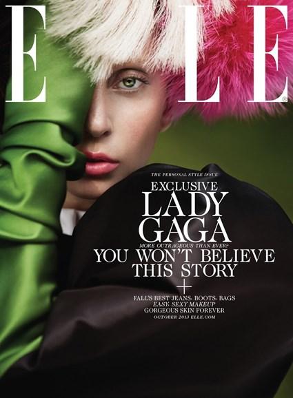 ELLE Cover - 10/1/2013