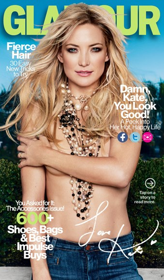 Glamour Cover - 4/1/2013