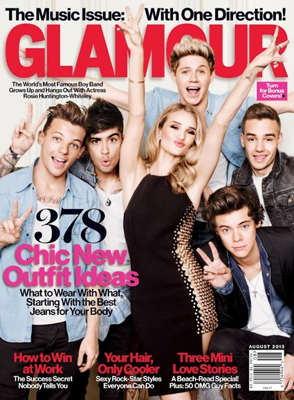 Glamour Cover - 8/1/2013