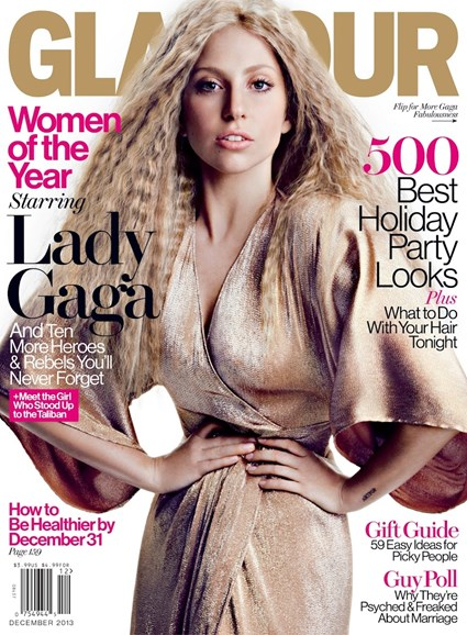 Glamour Cover - 12/1/2013