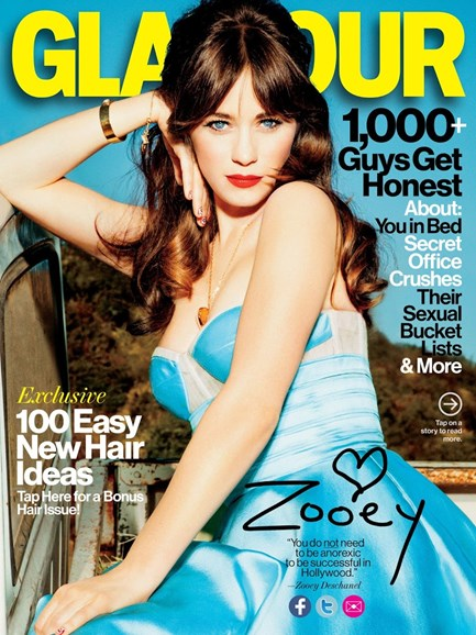 Glamour Cover - 2/1/2013