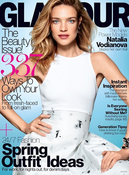 Glamour Cover - 4/1/2015