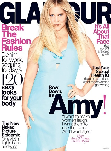 Glamour Cover - 8/1/2015