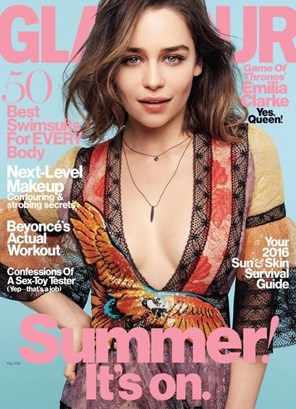 Glamour Cover - 5/1/2016
