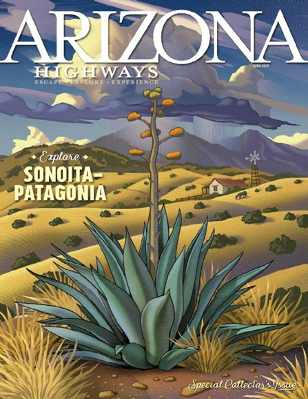 Arizona Highways Cover - 4/1/2017