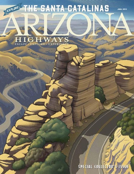 Arizona Highways Cover - 6/1/2017