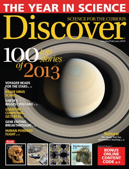 Discover Cover - 1/1/2014