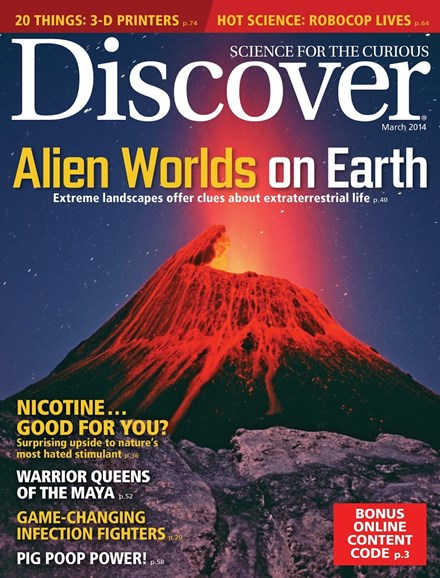 Discover Cover - 3/1/2014