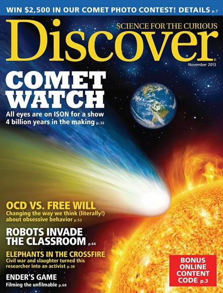 Discover Cover - 11/1/2013