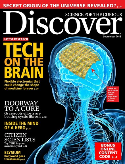 Discover Cover - 9/1/2013