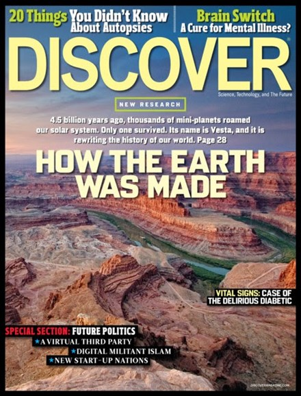 Discover Cover - 9/1/2012