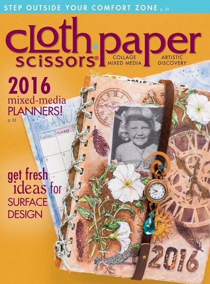 Cloth Paper Scissors Cover - 1/1/2016