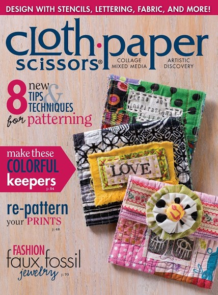 Cloth Paper Scissors Cover - 1/1/2015