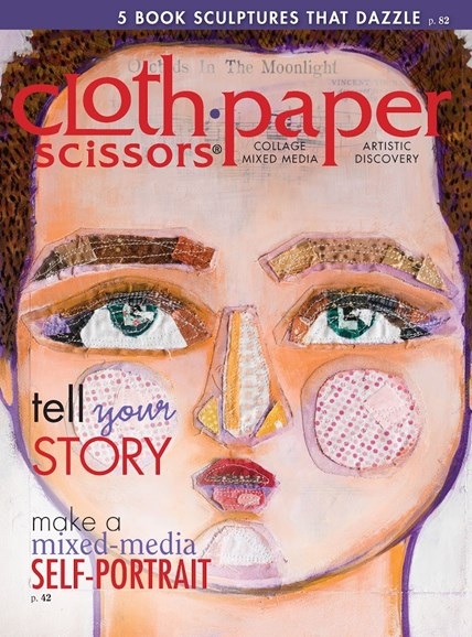Cloth Paper Scissors Cover - 3/1/2015