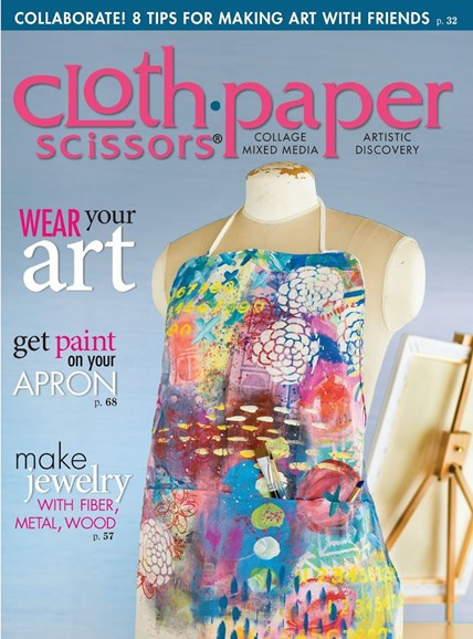 Cloth Paper Scissors Cover - 5/1/2015
