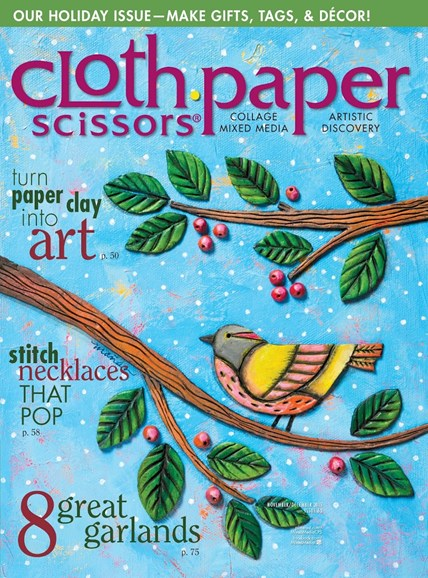 Cloth Paper Scissors Cover - 11/1/2015