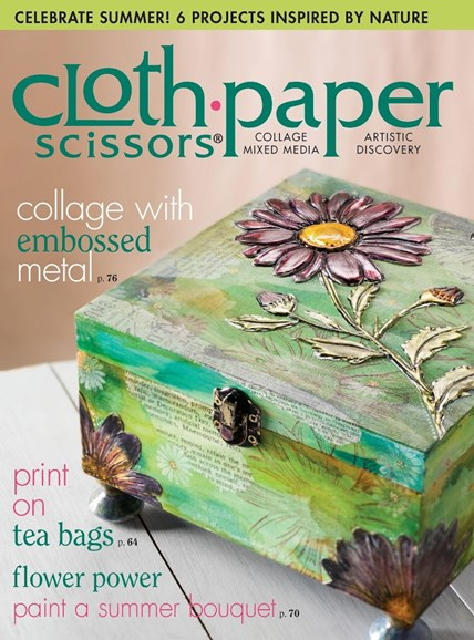 Cloth Paper Scissors Cover - 7/1/2015