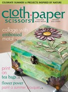 Cloth Paper Scissors Magazine 7/1/2015
