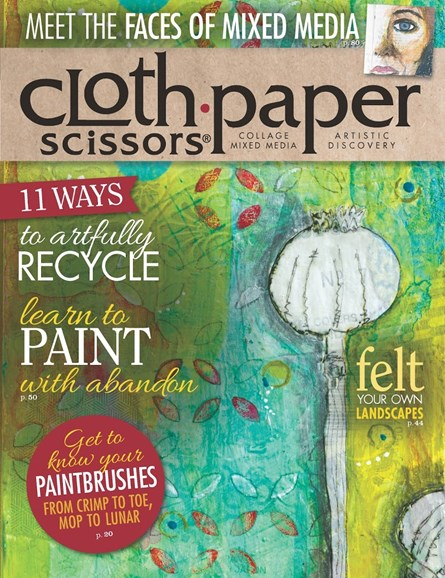 Cloth Paper Scissors Cover - 3/1/2014
