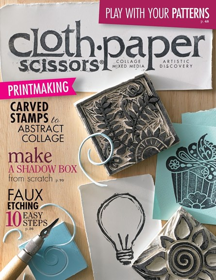 Cloth Paper Scissors Cover - 5/1/2014